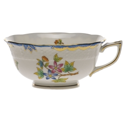 Herend Queen Victoria Blue Tea Cup