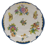 Herend Queen Victoria Blue Salad Plate