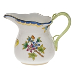 Herend Queen Victoria Blue Creamer