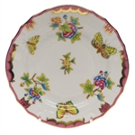 Herend Queen Victoria Pink Bread & Butter Plate