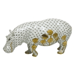 Herend Figurine Hippopotamus Reserve Collection
