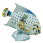Herend Parrot Fish Figurine Reserve Collection