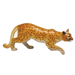 Herend Mountain Lion Figurine Reserve Collection