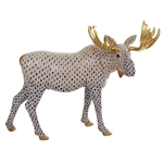 Herend Moose Figurine Reserve Collection