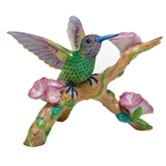 Herend Hummingbird on Flowered Branch Figurine Reserve Collection
