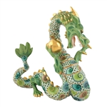 Herend Whirlwind Dragon Multicolor Reserve Collection