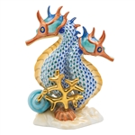 Herend Seahorses Figurine Reserve Collection