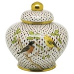 Herend Songbird Ginger Jar Reserve Collection