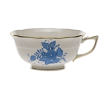 Herend Chinese Bouquet Blue Tea Cup