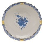 Herend Chinese Bouquet Blue Cream Soup Saucer