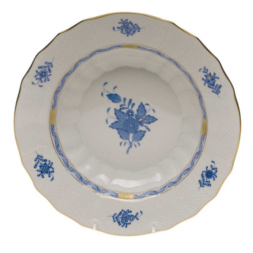 Herend Chinese Bouquet Blue Rim Soup Bowl  sc 1 st  Herendstore.com & Herend Chinese Bouquet Blue Rim Soup Bowl at Herendstore