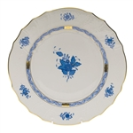 Herend Chinese Bouquet Blue Dinner Plate
