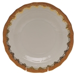 Herend Fish Scale Rust Desert Plate