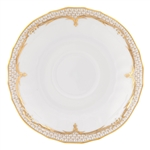 Herend Simply Elegance Gold Canton Saucer