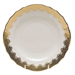 Herend Fish Scale Gold Salad Plate