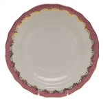 Herend Fish Scale Raspberry Desert Plate
