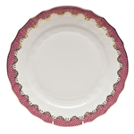 Herend Fish Scale Raspberry Dinner Plate