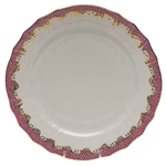 Herend Fish Scale Raspberry Service Plate