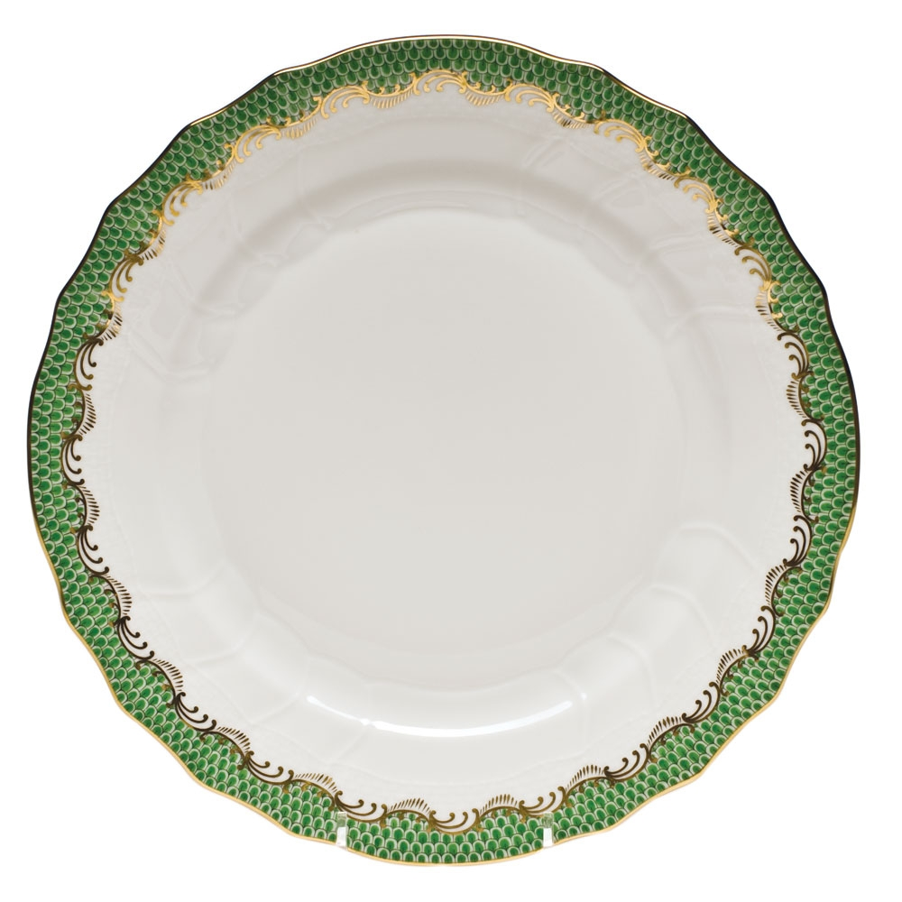 Herend Fish Scale Green Dinner Plate  sc 1 st  Herendstore.com & Herend Fish Scale Green Dinner Plate at Herendstore