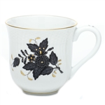 Herend China Chinese Bouquet Black Mug
