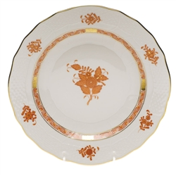 Herend Chinese Bouquet Rust Dessert Plate