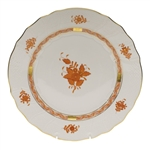 Herend Chinese Bouquet Rust Dinner Plate