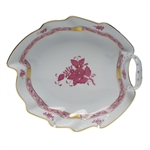 Herend Chinese Bouquet Raspberry Leaf Dish