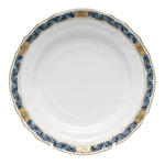 Herend Chinese Bouquet Garland Black Sapphire Bread & Butter Plate