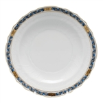 Herend Chinese Bouquet Garland Black Sapphire Salad Plate