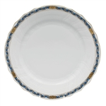 Herend Chinese Bouquet Garland Black Sapphire Dinner Plate