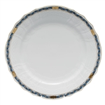 Herend Chinese Bouquet Garland Black Sapphire Service Plate