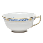 Herend Chinese Bouquet Garland Blue Tea Cup