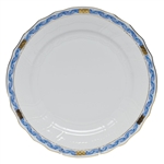 Herend Chinese Bouquet Garland Blue Dinner Plate