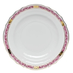 Herend Chinese Bouquet Garland Raspberry Salad Plate