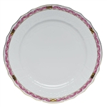 Herend Chinese Bouquet Garland Raspberry Service Plate