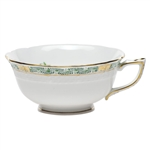 Herend Chinese Bouquet Garland Green Tea Cup