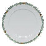 Herend Chinese Bouquet Garland Green Service Plate