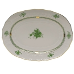 Herend Chinese Bouquet Green Platter