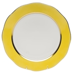 Herend China Lemon Charger Plate
