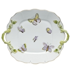 Herend China Royal Garden Square Cake Plate