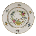 Herend Indian Basket Dessert Plate