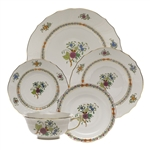 Herend Windsor Garden Five Piece Place Setting