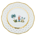 Herend China Asian Garden Bread & Butter Plate Motif 2