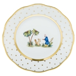 Herend China Asian Garden Bread & Butter Plate Motif 3