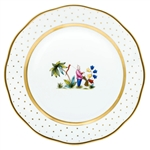 Herend China Asian Garden Dinner Plate Motif 1