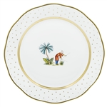 Herend China Asian Garden Dinner Plate Motif 6