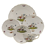 Herend Chanticleer Five Piece Place Setting Motif 1