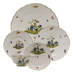 Herend Chanticleer Five Piece Place Setting Motif 3