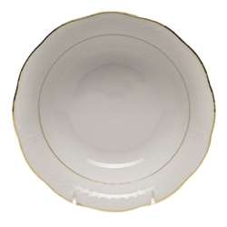 Herend Golden Edge Oatmeal Bowl