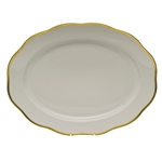 Herend Gwendolyn Porcelain Oval Platter